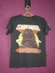 Camiseta Chewbacca Mescla