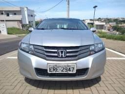 Honda, City EX, flex, automático, ano 2012/12, Prata - 2012