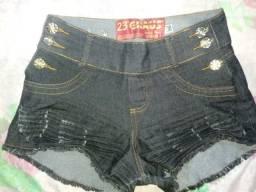 Shorts (15,00 cada)