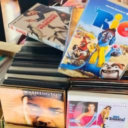 DVDS de filmes e músicas