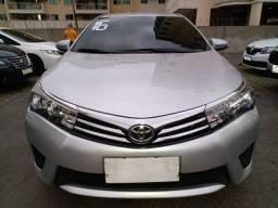 Toyota corolla 2016 com gnv 52.900 financiado+pequena entrada