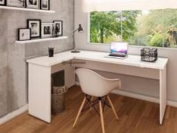 Mesa em L para computador NOVA fabricada em MDF
