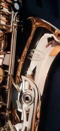 Sax Alto Jahnke novo ótimo timbre (promoção última peça)