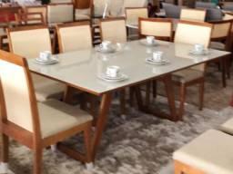 Título do anúncio: Mesa astral de 8 cadeiras