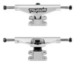Truck Skate Trurium 139mm e 149mm Parafuso Central Vazado