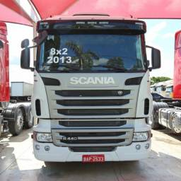 Scania R 440 - 2013/13 - 8x2 (BAP 2533) I Com 4° eixo direcional
