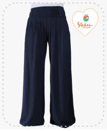 Calça Pantalona (Azul)
