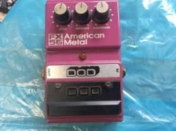 DOD American Metal USA. FX56 parcelo cartão /ML aceito brik por pedais