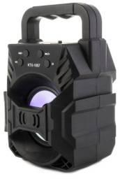 Caixa de Som 1 alto-falantes Bluetooth Portatil Reprodução de Músicas