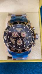Relógio Invicta Pro Diver Modelo Novo Mesclado a prova d'água