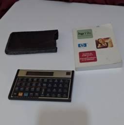 Vendo Calculadora HP 12c seminova
