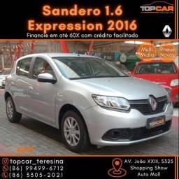 Título do anúncio: Renault Sandero 1.6 Expression 2016