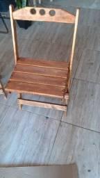 Título do anúncio: Cadeiras de madeira dobravel