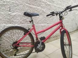 Bicicleta com macha aro 24