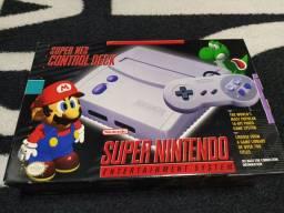 Super Nintendo, novo - zero Km ler anúncio.