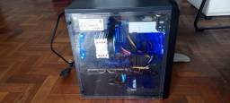PC Game  ! Com Placa de Video HD 5450+ Fonte Cougar 500 watts Real