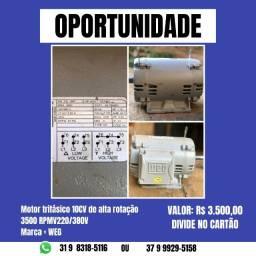 Motoor eletrico 10 CV