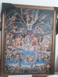 """Tela """"O juízo final"""" de Michelangelo"""