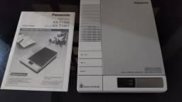 Título do anúncio: Secretaria Eletronica Panasonic KX-T1451 anos 80 na caixa nunca usado ler o anuncio