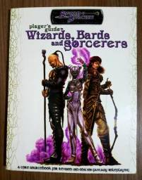 Título do anúncio: Player's Guide to Wizards, Bards and Sorcerers - D20 - Sword And Sorcery   RPG