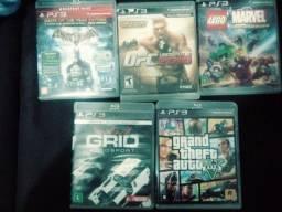 Título do anúncio: 5  jogos do PS3