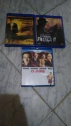 3 Blurays do gene Hackman original + frete grátis