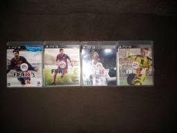 Jogos FIFA para PS3 original.