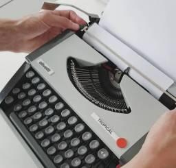 Olivetti Tropical Maquina de escrever antiga - antiguidade