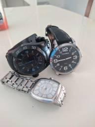 Título do anúncio: Relógio masculino-Os três relógios (ou vendo separadamente)