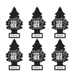 06 Litle Trees Aromatizador Para Carro Original - Black Ice