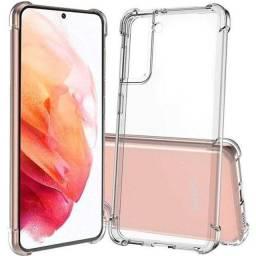 Título do anúncio: Capinha Capa Transparente Galaxy S21 Plus e S30+ Silicone Premium