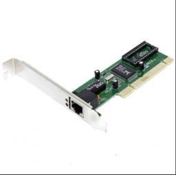Placa De Rede Ethernet 10/100Mb Slot Pci Chipset Rtl8139D