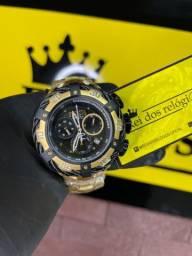 Título do anúncio: Relógio Thunderbolt detalhe preto novo