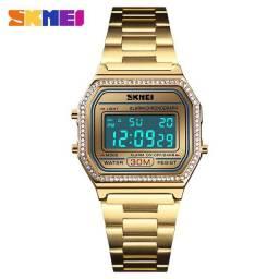 Relógio feminino SKMEI - Dourado