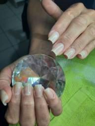 Unha de fibra de vidro