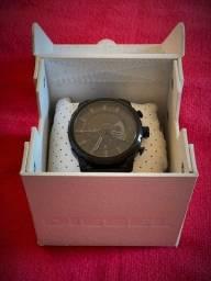 Relógio Diesel Novo (pulseira metal preto) masculino