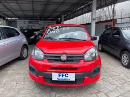 Título do anúncio: Fiat Uno Attractive 1.0 4p Vermelho Completo
