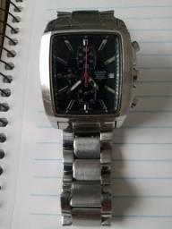 Relógio Casio Cronógrafo caixa retangular Raro. Baixei o Preço!