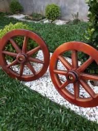 Lustres roda de carroça réplica