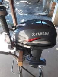 Vendo Motor de Barco Yamaha 15 Hp Ano 2014, Semi novo