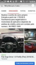 Fiat Argo Drive 1.0 Firefly ( flex) 2018/2018 - 2018