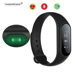 Y2 Plus Smart Wristband com Bluetooth - Preto Monitor de frequência cardíaca,Podómetro zap