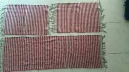 Conjunto de cozinha de algodão feito artesanalmente