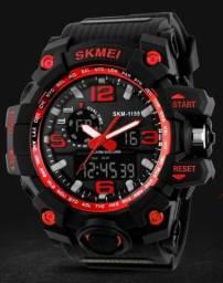 Relógio Esportivo Novo Masculino Original Skmei 1155 Digital