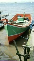 Canoa com motor - 2008