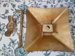 Conjunto de prender o estepe da gm veraneio c-10 c-14 composto de 3 peças fusca opala d-10