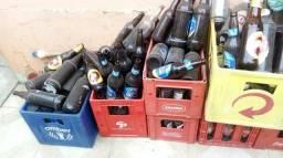 Engranados de cerveja vazia