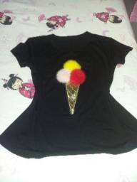 Blusa de sorvete
