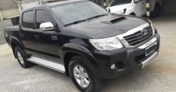 Vendo ou Troco Hilux SRV 3.0 Diesel Automática 14/14 Preta - 2014