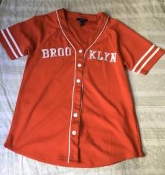 Camisa com estampa BROO KLYN